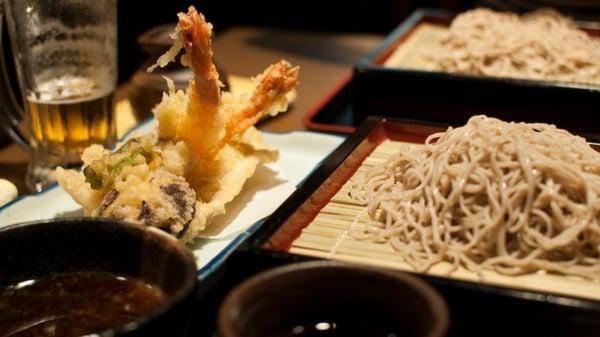 Tempura et Soba pour un repas équilibré et gourmand - Flickr: Yu Morita