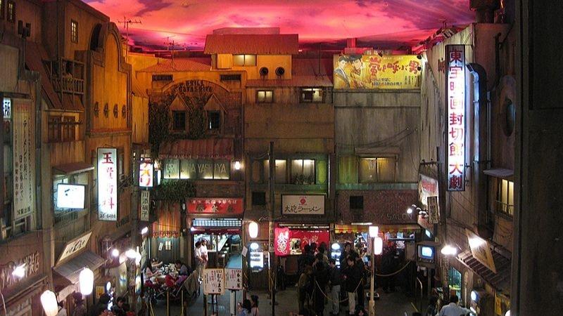 Tokyo du début du XXème siècle reconstitué pour la dégustation de nos ramen favoris au Shin-Yokohama Ramen Museum