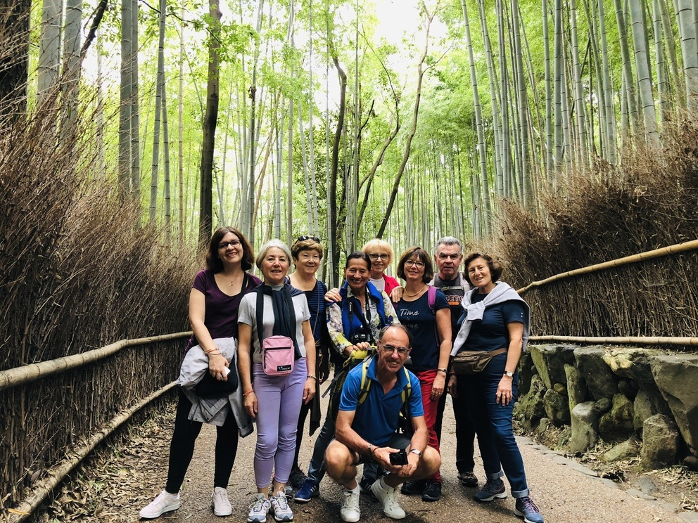 Les voyageurs de Japaventura à Arashiyama - Novembre 2018